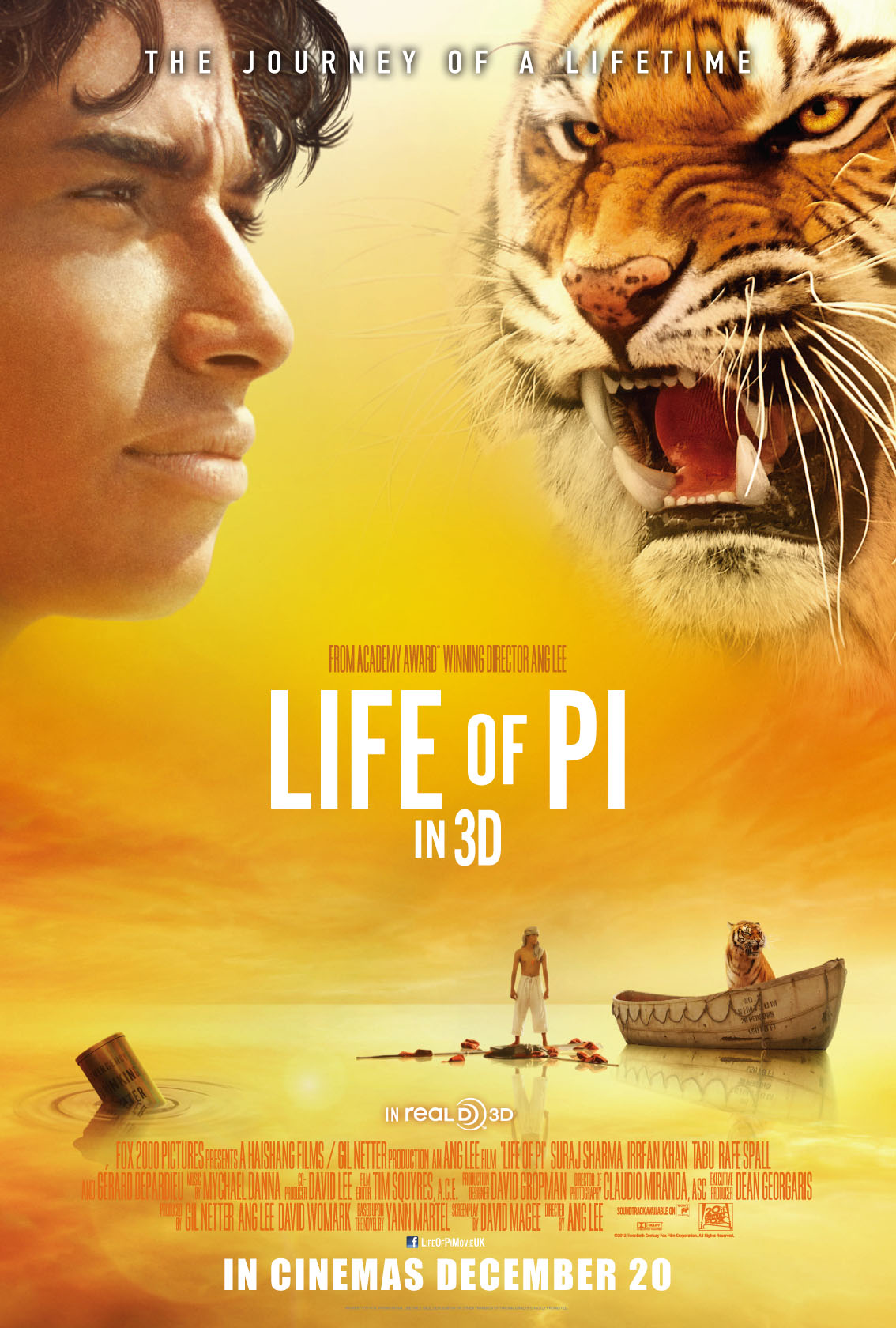 Mr brown 39 s movie breakdown when survival becomes a journey for Life of pi characterization