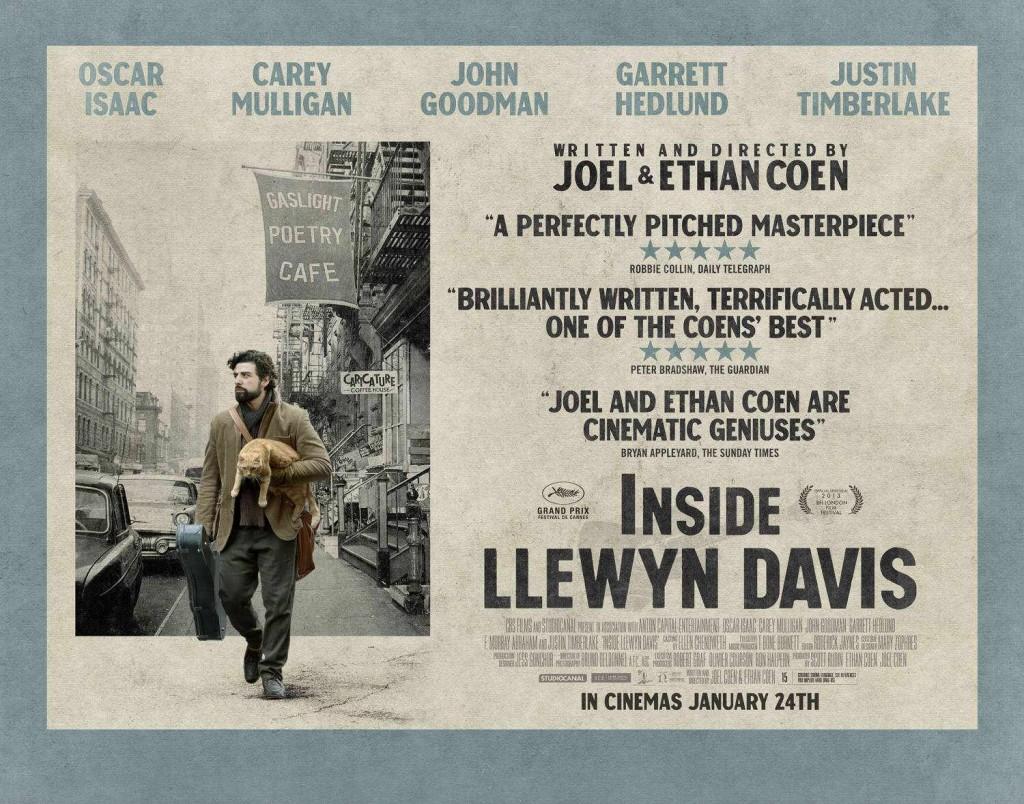 inside llewyn poster