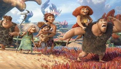 The Croods ?? 2012 DreamWorks Animation LLC. All Rights Reserved